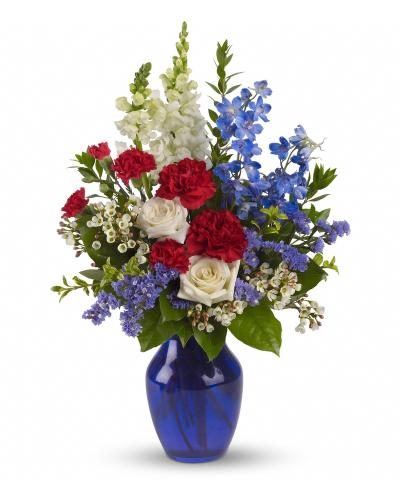Sea to Shining Sea Bouquet