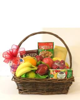 Premium Fruit and Gourmet Basket